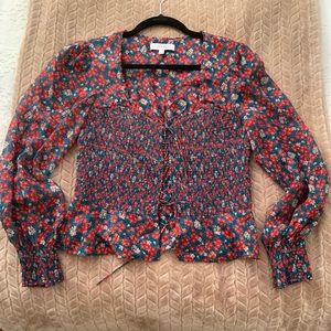 Floral Top (very good condition)